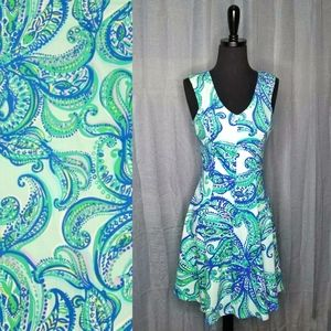 Lilly Pulitzer Dahlia Keep It Current Cotton Dress